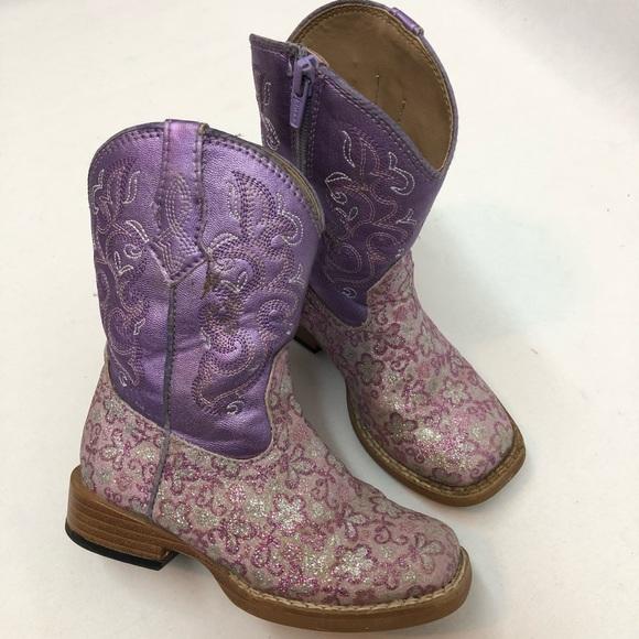 a93c65d8872 Toddler Girls Roper Boots